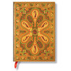 Unlined Midi Paperblanks Amber Bukhara Journal - 1