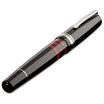 Black/Red Delta Titanio Galassia Fountain Pen - Medium Nib - 4
