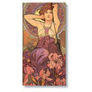 Slim Paperblanks Mucha Amethyst Address Book - 1