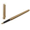Sailor Chalana Fountain Pen Gold stripe with black trim - 2
