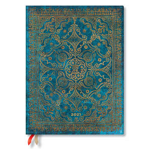 Paperblanks Azure Equinoxe Flexi 2021 Diary Ultra