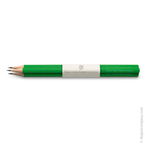 Viper Green Graf von Faber-Castell Guilloche Pencils Graphite Pencil