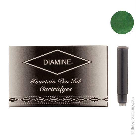 Diamine Emerald Green Fountain Pen Ink Cartridges 18 Pack - 1