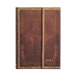 Paperblanks Sierra Old Leather 2022 Diary Midi - front