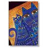 Mini Paperblanks Mediteranean Cats Address Book - 1
