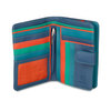 Mywalit Large Wallet Zip Purse Aqua - 2