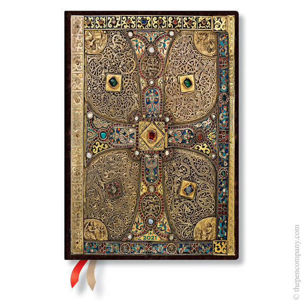 Midi Paperblanks Lindau Gospels Flexi 2021 Diary 2021 Diary