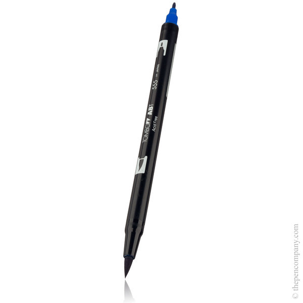 555 Ultramarine Tombow ABT Brush Pen