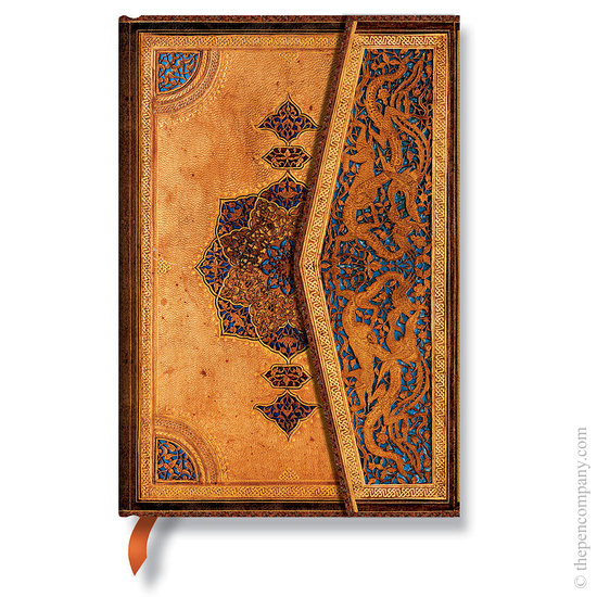 Lined Mini Paperblanks Safavid Journal - 1