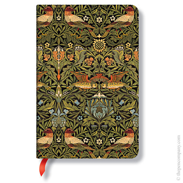 Mini Paperblanks William Morris Journal Journal Birds Lined