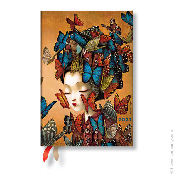 Mini Paperblanks Esprit de Lacombe Flexi 2021 Diary 2021 Diary