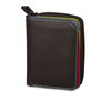 Mywalit Small Wallet with Zip-Around Purse Black Pace - 1