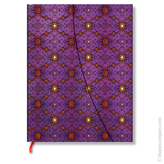 Lined Ultra Paperblanks French Ornate Violet Journal - 1