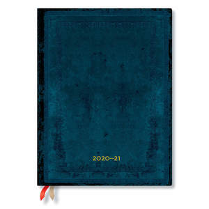 Paperblanks Calypso Bold Old Leather Flexi Academic Diary Ultra