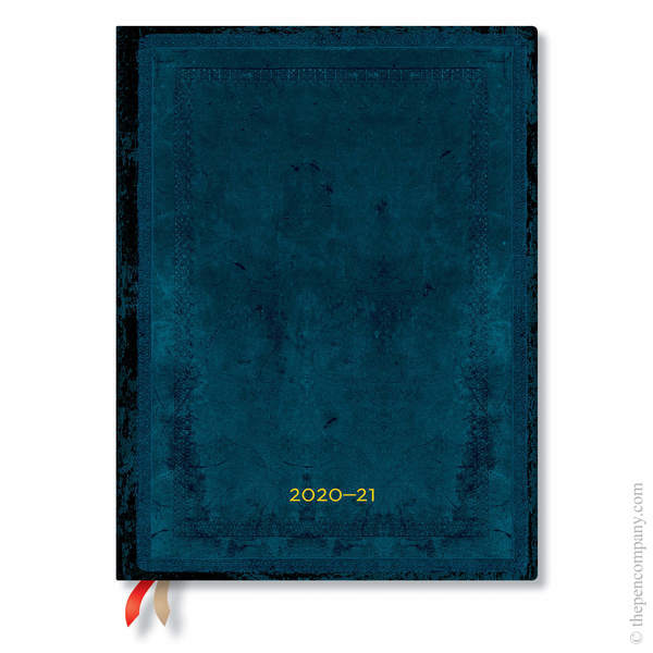 Ultra Paperblanks Old Leather Flexi 2020-2021 18 Month Diary Academic Diary Calypso Bold Teacher's Planner