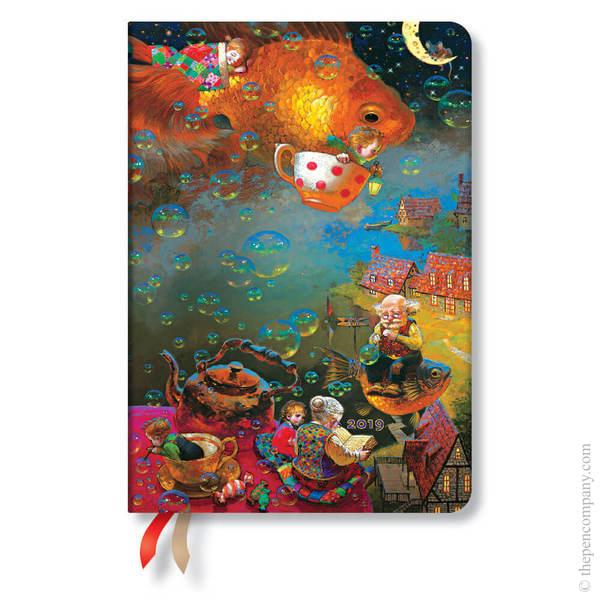 Midi Paperblanks Wonder & Imagination 2019 Diary