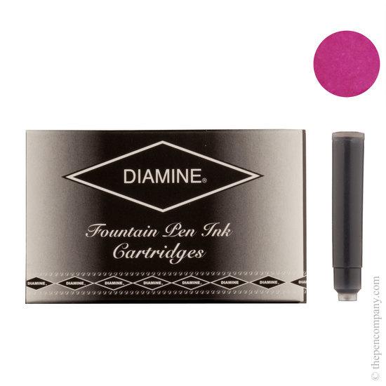 Diamine Claret Fountain Pen Ink Cartridges 18 Pack - 2