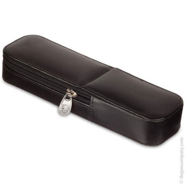 Black Visconti Pen Case for Two