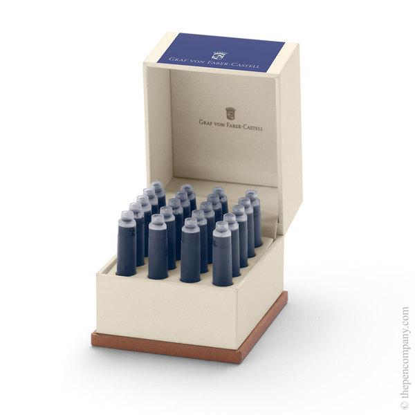 Cobalt Blue Graf von Faber-Castell 20 Fountain Pen Ink Cartridges Ink Cartridges