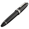 Sailor 1911 Large Naginata-togi smooth black silver trim - 3