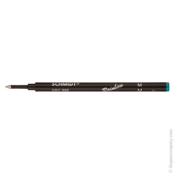 Turquoise Schmidt L 888 Safety Ceramic Rollerball Refill Medium