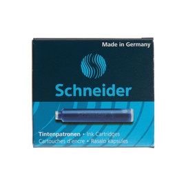 Blue Schneider ink cartridges - 1