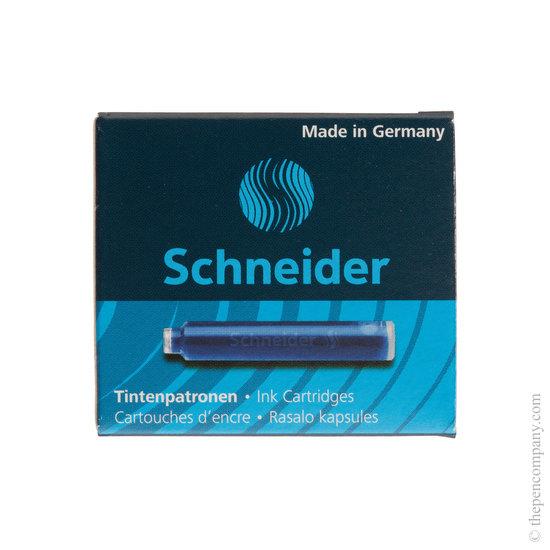Blue Schneider ink cartridges - 1