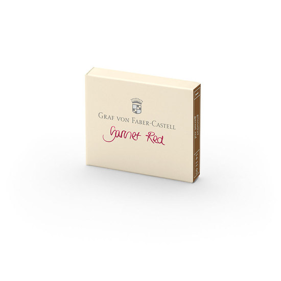 Graf Garnet Red Ink Cartridges - 1