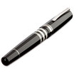 Delta Titanio Galassia Grey Fountain Pen - 3