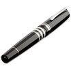 Delta Titanio Galassia Grey Fountain Pen - 3