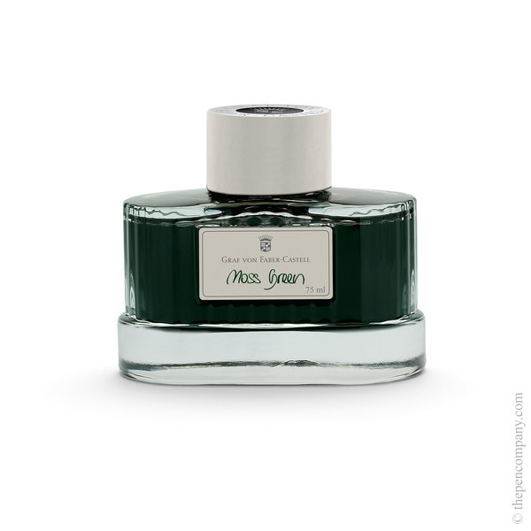 Moss Green Graf von Faber-Castell Bottled Fountain Pen Ink