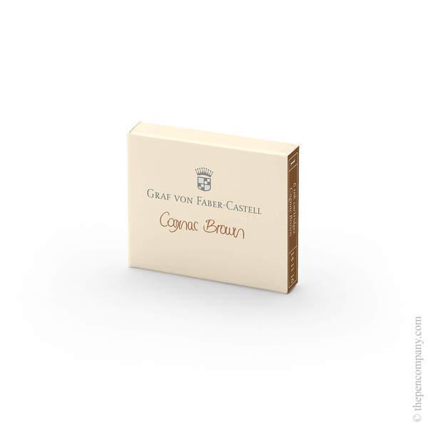 Cognac Brown Graf von Faber-Castell Fountain Pen Ink Cartridges