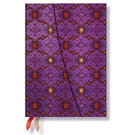 Paperblanks French Ornate Violet Horizontal Midi 2016 Diary - 1