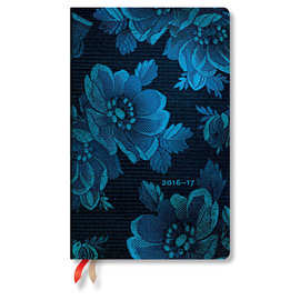 Paperblanks Blue Muse 2016-17 academic diary - 1