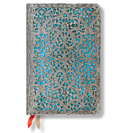 Paperblanks Maya Blue Silver Filigree 2015-16 academic diary - 4