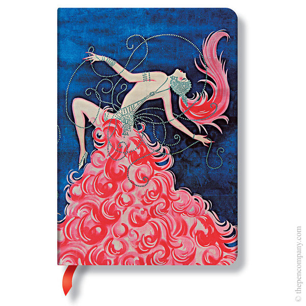 Midi Paperblanks Vintage Vogue Journal Journal Cabaret Cabaret Lined
