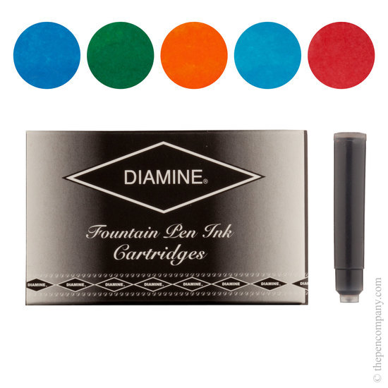 Diamine Floral Selection Fountain Pen Ink Cartridges