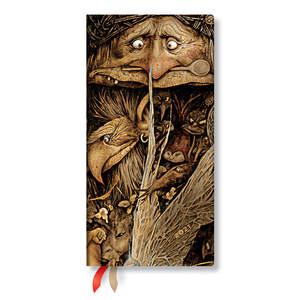 Paperblanks Mischievous Creatures Faerielands 2021 Diary Slim